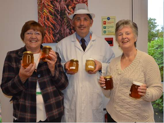 Essex beekeepers donate honey to Saint Francis Hospice for patients and staff to enjoy