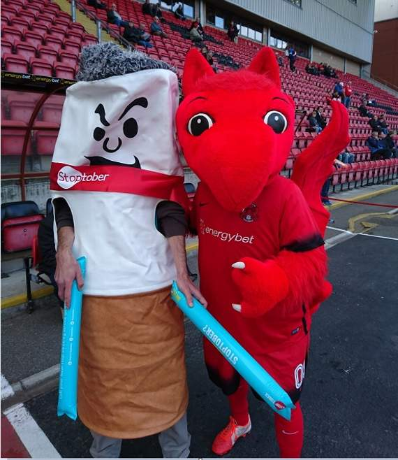 Leyton Orient and North East London NHS Foundation Trust unite for Stoptober initiative