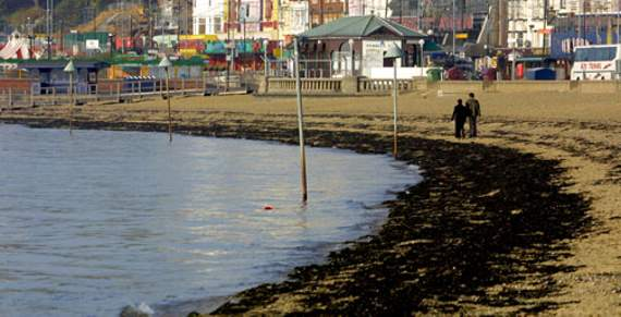 High tide at Southend Pier from Monday April 24 (BST)