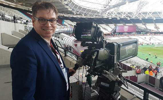 Yellow Sports Brian Jeeves reporting from the London Stadium